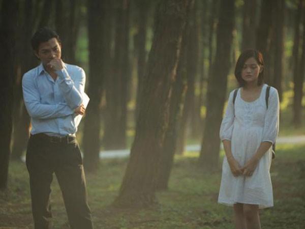 """Một cảnh trong phim """"Đập cánh giữa không trung"""" của đạo diễn Nguyễn Hoàng Điệp"""