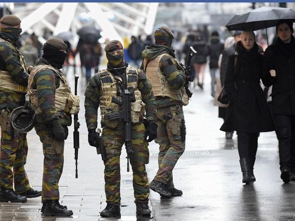 An ninh đang được tăng cường tối đa tại Brussels