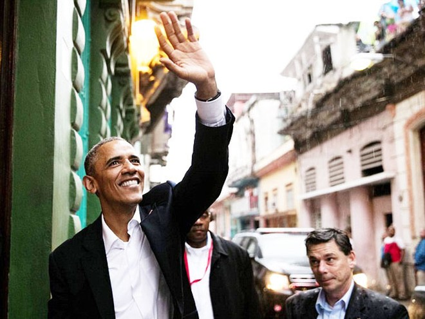 Tổng thống Obama có chuyến thăm lịch sử đến Cuba hồi đầu tuần qua