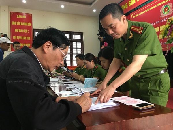 Công an quận Hoàng Mai, Hà Nội: Ngày cuối tuần thiết thực ảnh 1