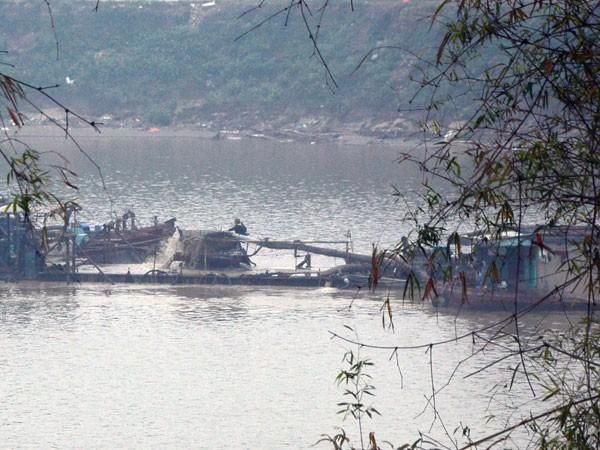 """Nhận diện """"cát tặc"""" trên các tuyến sông ở Hà Nội: Đại công trường tận thu ảnh 2"""