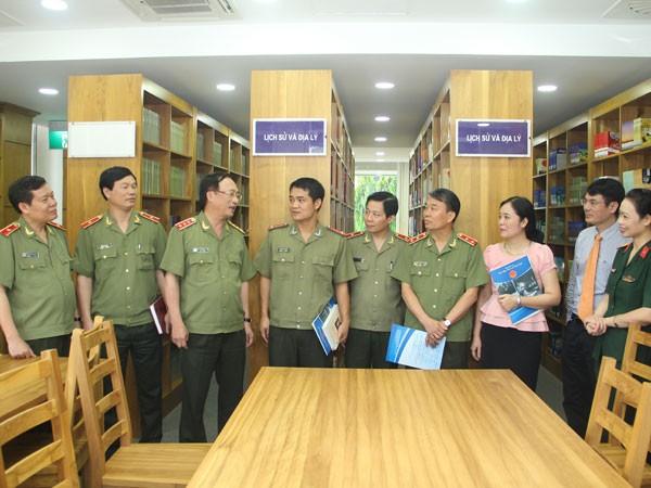 Chính thức khai trương thư viện Công an nhân dân ảnh 1
