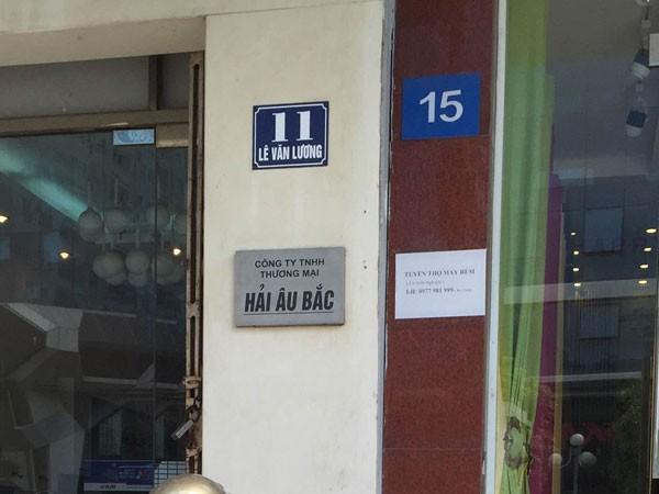 Việc đánh số nhà không theo quy định nào trên đường Lê Văn Lương