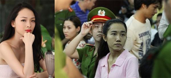 Trương Hồ Phương Nga (trái) và Võ Thị Mỹ Xuân (phải) đều vì lòng tham trước đồng tiền mà vướng vòng lao lý