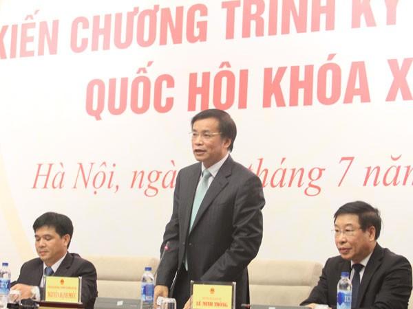 Khai mạc kỳ họp thứ nhất - Quốc hội khóa XIV: Bầu lại nhân sự cấp cao của Nhà nước ảnh 1