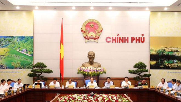 Phiên họp Chính phủ thường kỳ tháng 7-2016