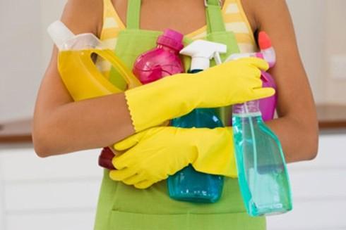 Hóa chất tẩy rửa tăng nguy cơ tổn thương phổi