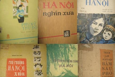 Sách cũ quý hiếm về Hà Nội