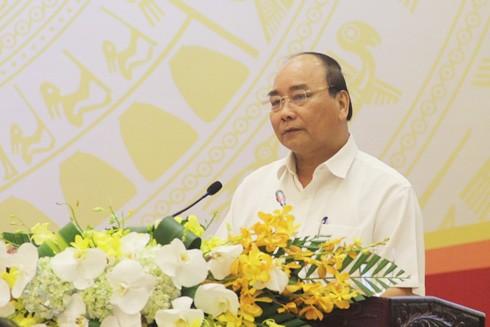 Thủ tướng Nguyễn Xuân Phúc phát biểu chỉ đạo tại hội nghị