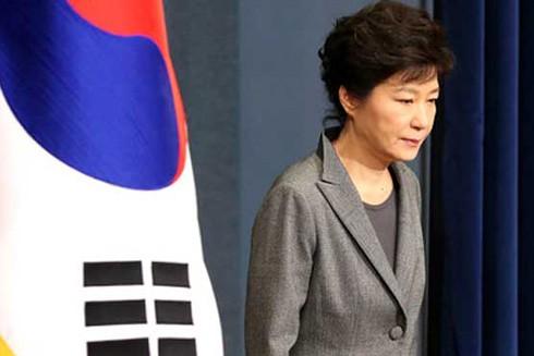 Nữ Tổng thống Hàn Quốc lên truyền hình xin lỗi dân ảnh 1