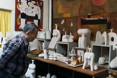 """Nhà điêu khắc Lê Công Thành: Cuộc đời nghệ thuật của """"vị thần cai quản phái đẹp"""" ảnh 2"""