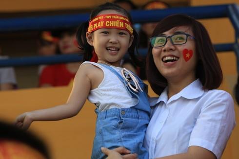 THPT Trần Quốc Tuấn đăng quang 3 lần trên sân Hàng Đẫy ảnh 4
