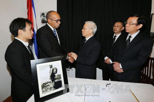 Việt Nam để tang Lãnh tụ Cuba Fidel Castro với nghi thức Quốc tang ảnh 1