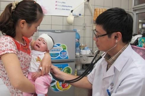 Cha mẹ cần tuân thủ trong điều trị các bệnh đường hô hấp ở trẻ