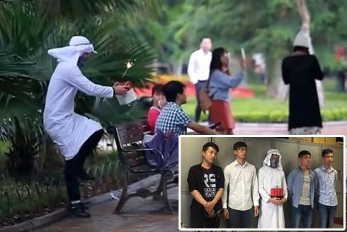 Đặt bom giả nơi công cộng để quay video clip, có bị xử lý hình sự?