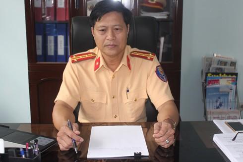Đại tá Lê Đình Toàn, Trưởng Phòng CSGT Công an tỉnh Kon Tum