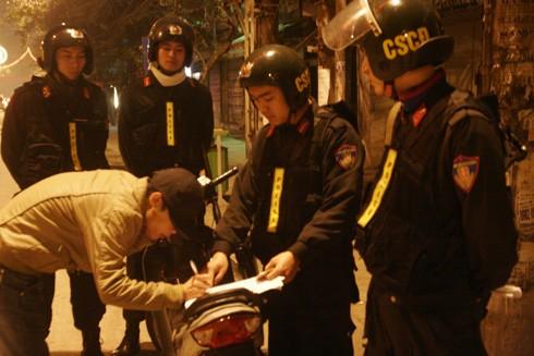 Tăng cường tuần tra kiểm soát, đấu tranh phòng chống tội phạm trong đợt cao điểm