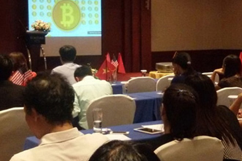 Một buổi thuyết trình của các mạng lưới tham gia Bitcoin