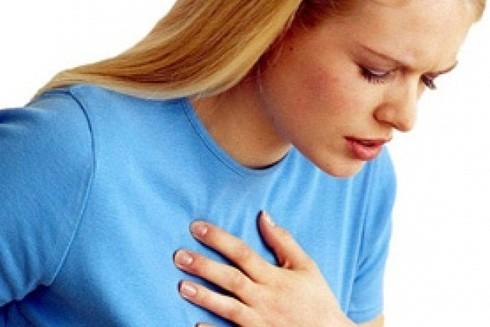 Thận trọng với triệu chứng khó thở