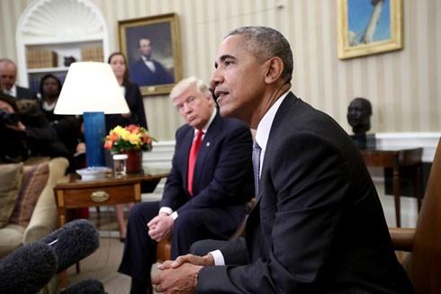 Tổng thống sắp mãn nhiệm Barack Obama được người Mỹ bình chọn là người đàn ông đáng ngưỡng mộ nhất năm 2016