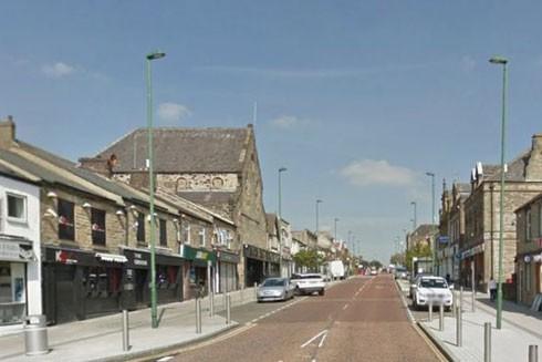 Một góc thị trấn Consett yên bình đông bắc nước Anh