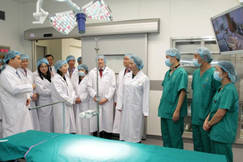 Trung tâm kỹ thuật cao và tiêu hóa Hà Nội đạt tiêu chuẩn châu Âu đã đưa vào sử dụng