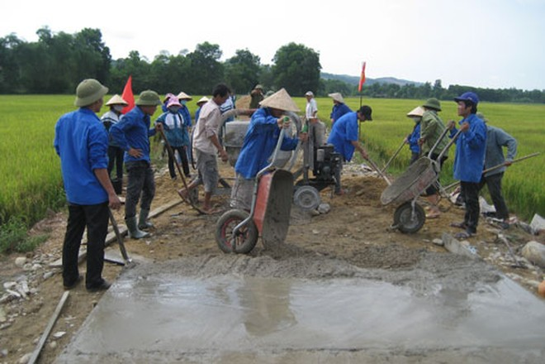 Cơ sở hạ tầng kinh tế - xã hội khu vực nông thôn được cải thiện