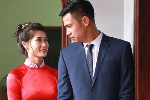 Cặp uyên ương đẹp nhất làng bóng chuyền Hoàng Văn Phương - Trần Thị Thảo