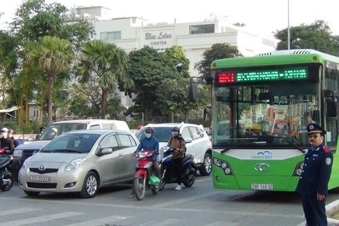 Hà Nội sẽ mở tuyến buýt nhanh Kim Mã - Hòa Lạc ảnh 2