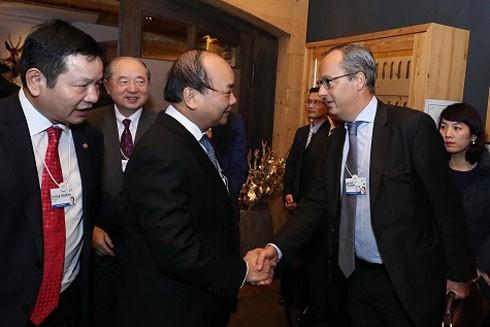 Việt Nam là nước đầu tiên WEF ký thỏa thuận ảnh 1