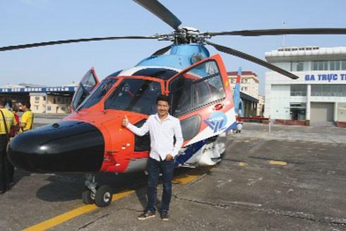 Tác nghiệp từ trực thăng ảnh 2