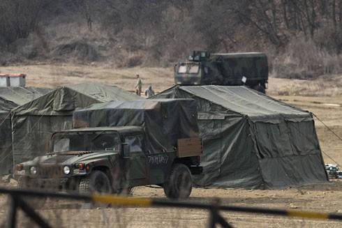 Mỹ - Hàn diễn tập phá hủy vũ khí hóa học của Triều Tiên ảnh 1