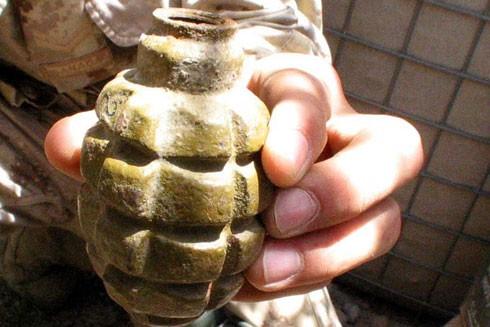Loại lựu đạn Bồ Đào Nha bị đánh cắp