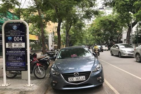 Hà Nội sẽ mở rộng Iparking tại tất cả các tòa nhà chung cư, bãi, điểm đỗ xe ô tô có phép trên địa bàn thành phố