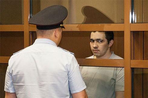 Rashid trong phòng cách ly tại tòa