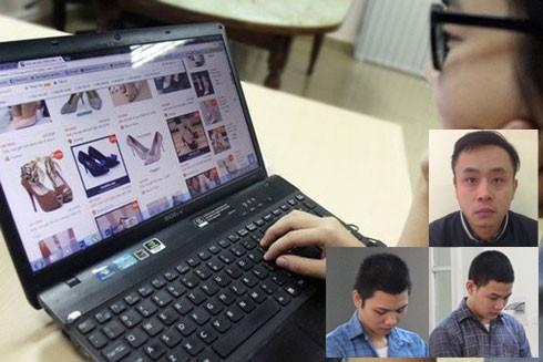 Các đối tượng thực hiện hành vi lừa đảo mua bán hàng qua mạng Internet