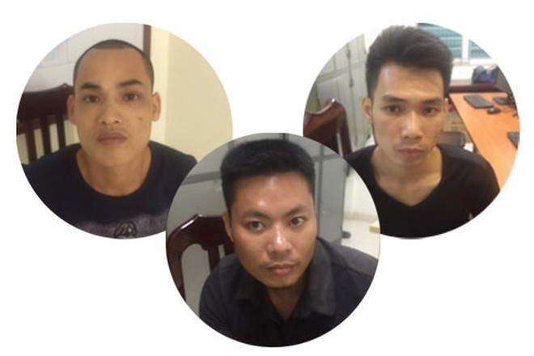 Các đối tượng tàng trữ trái phép chất ma túy bị CAH Thanh Trì phát hiện, bắt giữ trong đêm kiểm tra hành chính
