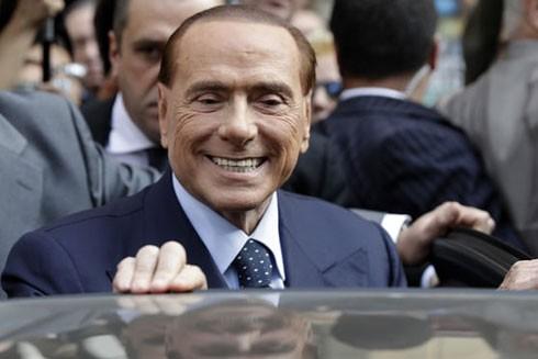 Sự trở lại bất ngờ của cựu Thủ tướng Italia Berlusconi ảnh 1
