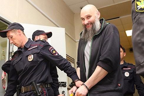 Boltachev-Zamolskis (bên phải) đã bị bắt tại Nga