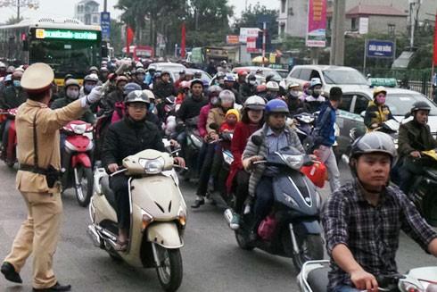 Đảm bảo trật tự an toàn giao thông trong dịp Tết và Lễ hội xuân 2018 ảnh 1