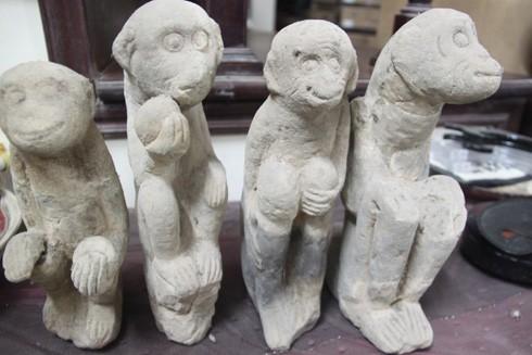 Khỉ đá thời Trần