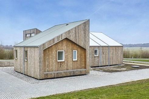 Ngôi nhà được làm từ chất thải nông nghiệp