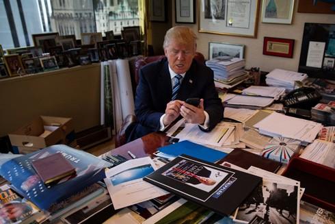 Tổng thống Mỹ Donald Trump thích mạng xã hội Twitter vì nó đã giúp ông tự do bày tỏ quan điểm của mình