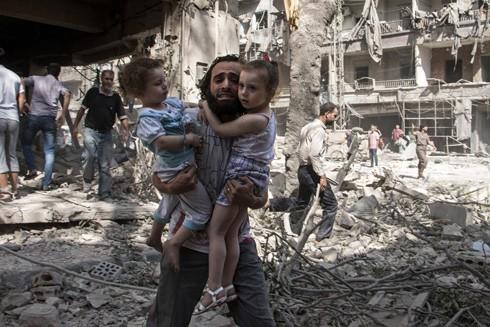 Người dân Syria đang mong mỏi hòa bình thật sự để tái thiết đất nước sau những năm dài chiến tranh gây thiệt hại vô cùng nặng nề
