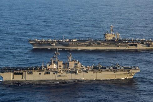 Tàu chiến của lực lượng Hải quân Mỹ