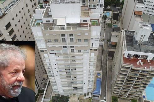 Căn hộ rộng 297m2 nằm trong khu phức hợp Solaris, mặt hướng ra bãi biển Asturias được cáo buộc là thuộc sở hữu của cựu Tổng thống Brazil Luiz Inacio Lula da Silva