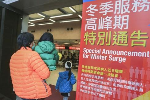 Dịch cúm bùng phát buộc Hồng Kông đóng cửa nhiều trường học
