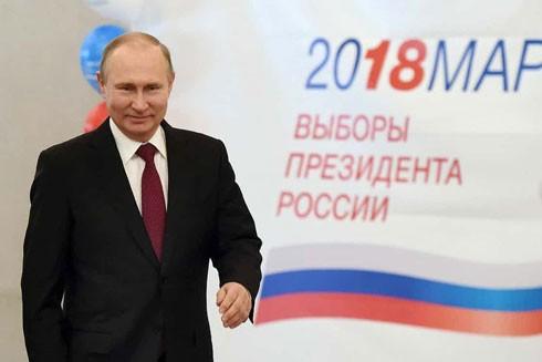 Khoảng 52,6 triệu cử tri Nga đã bầu cho ông V.Putin