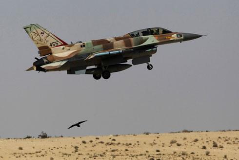 Máy bay chiến đấu F-16 của quân đội Israel