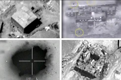 Cơ sở hạt nhân của Syria trước và sau khi bị không kích